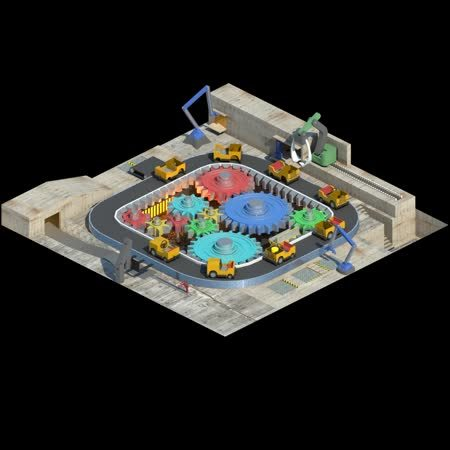 openttd, YETI industry set vehicle factory concept (reddit) GIFs