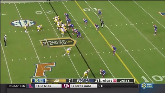 Watch and share Fournette Spin Move On Florida GIFs by bearsaremean1 on Gfycat