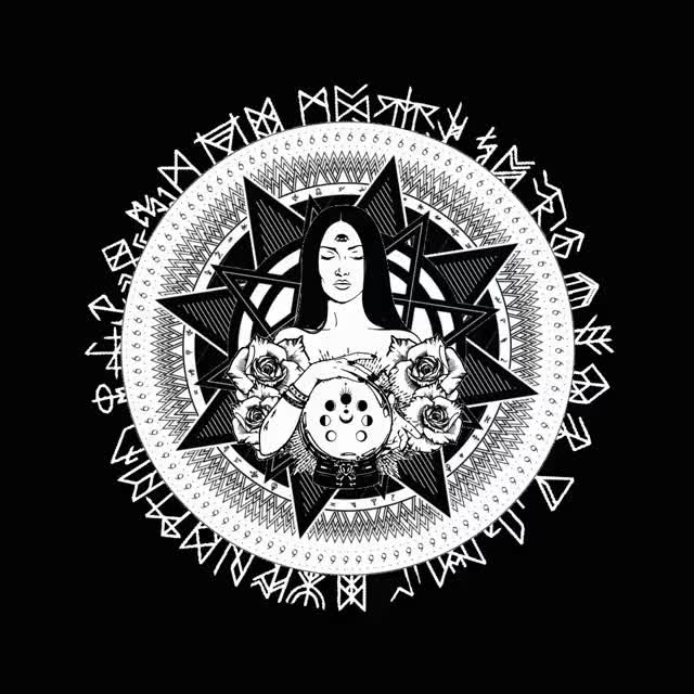 Watch and share Occult Design Animation 1076 GIFs on Gfycat