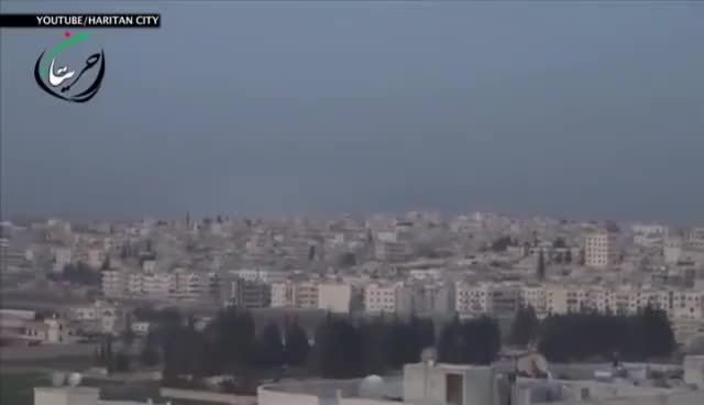 Watch and share Russian Jet Drops Cluster Bombs On Aleppo, Syria GIFs on Gfycat