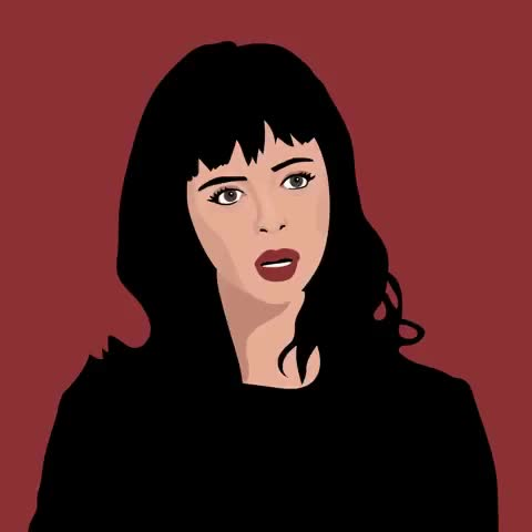 Watch this eye roll GIF by The GIF Smith (@sannahparker) on Gfycat. Discover more animation, annoyed, bored, eye roll, fed up, julie winegard, kristen ritter, over it GIFs on Gfycat