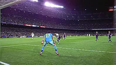 Watch and share Claudio Bravo GIFs and Fc Barcelona GIFs on Gfycat