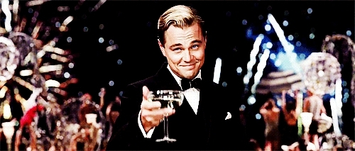 Leonardo DiCaprio, fun, party, wild, Party GIFs