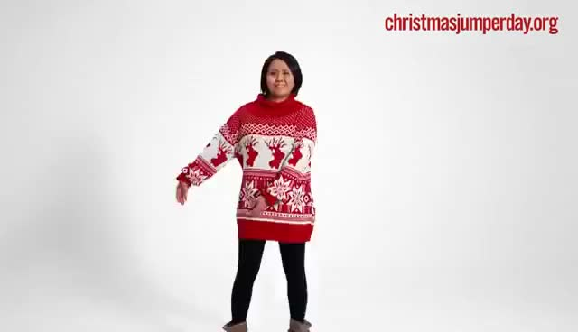 Watch and share Save The Children's Christmas Jumper Day 2016 GIFs on Gfycat