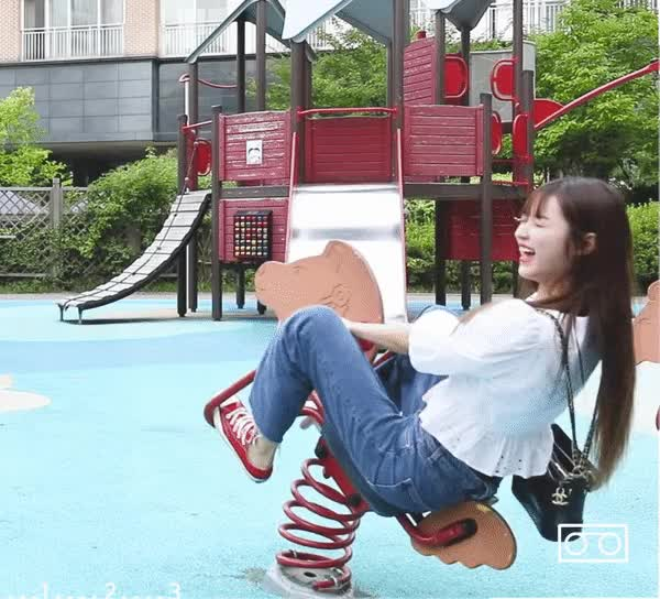 Watch and share Oh My Girl GIFs and Yooa GIFs by phoning.home on Gfycat