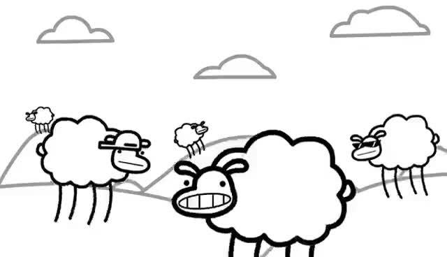 Watch and share Beep Beep I'm A Sheep GIFs on Gfycat