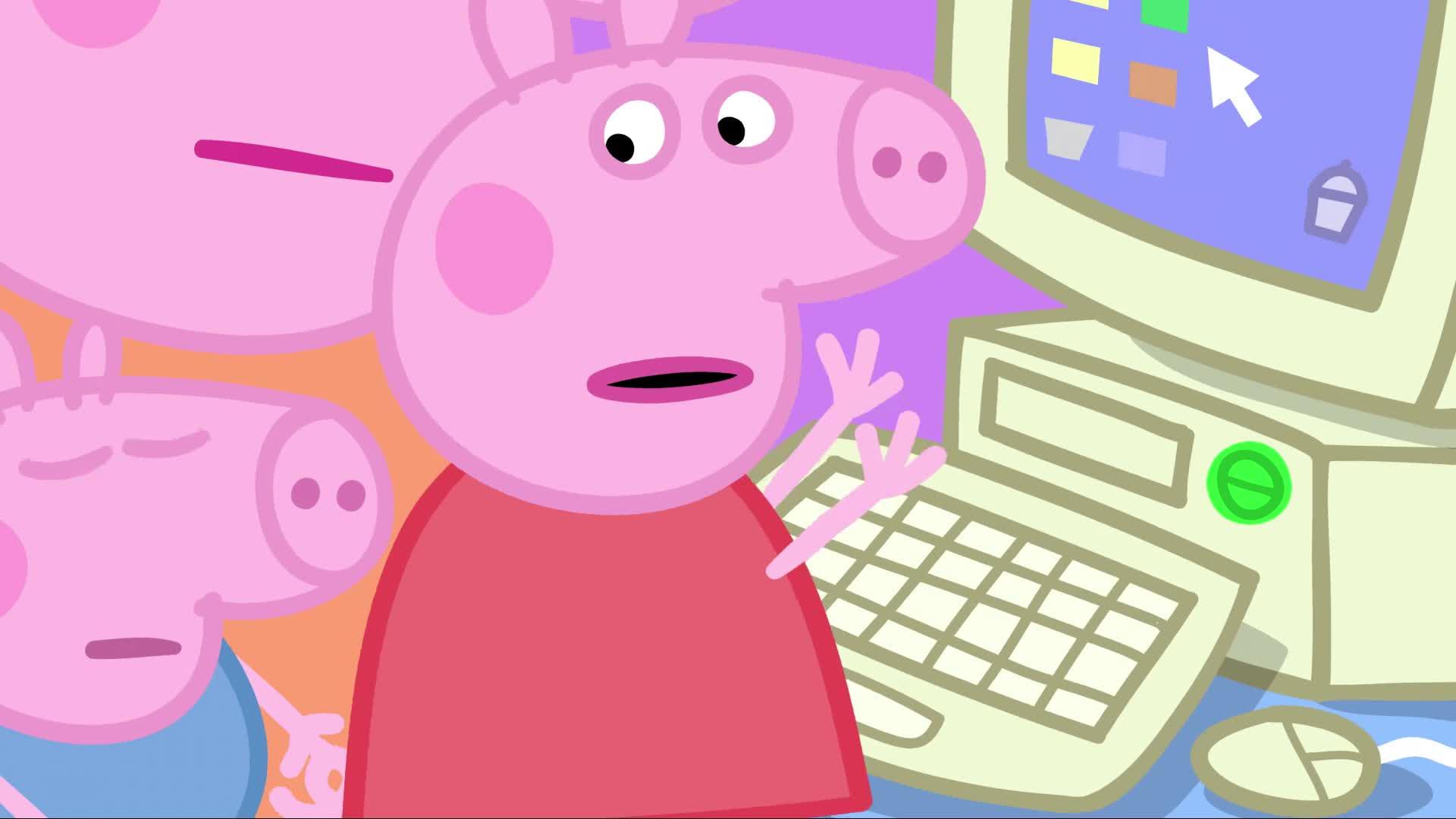 Peppa Pig Et Les Bsod Gif Gfycat
