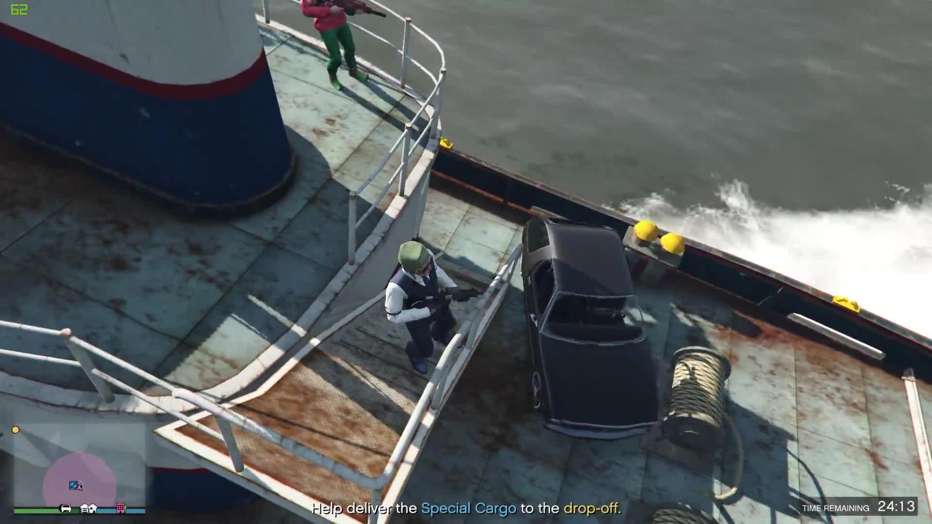 grandtheftautov, boat car GIFs