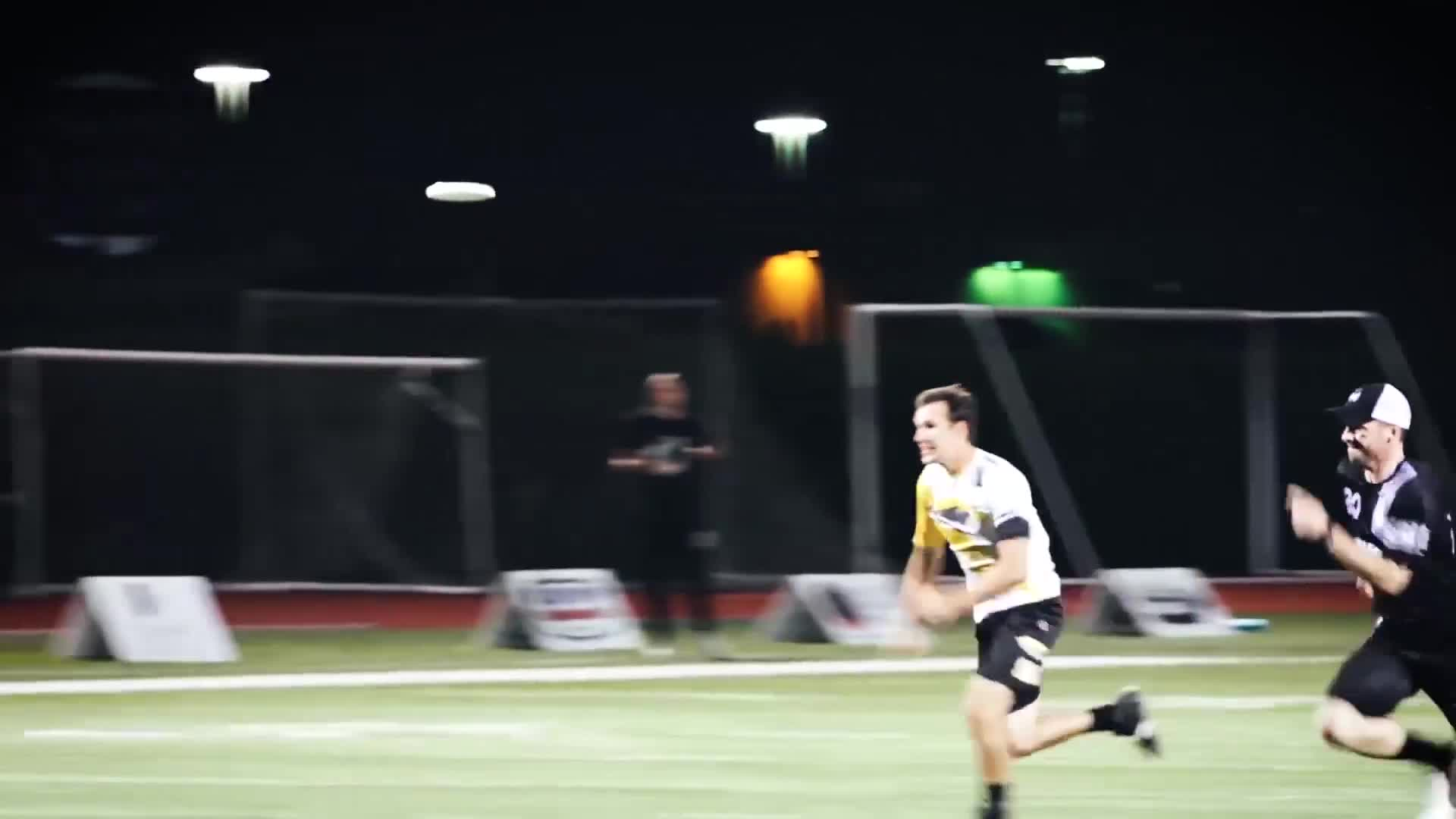 american ultimate disc league, audl, pro ultimate, ultimate, ultimate frisbee, Eric Johnson Double Layout Goal GIFs