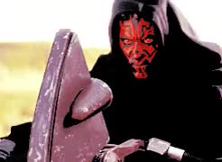 Watch and share Darth Maul GIFs and Star Wars GIFs on Gfycat
