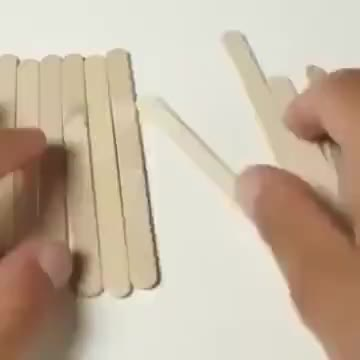 Watch and share Crafting With Popsicle Sticks GIFs by Gif-vif.com on Gfycat