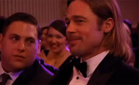 Watch and share Jonah Hill GIFs and Brad Pitt GIFs by Mom on Gfycat