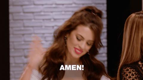 amen, ashley graham,  GIFs