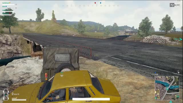Watch and share Vehicle Goes Flying With A Punch GIFs on Gfycat