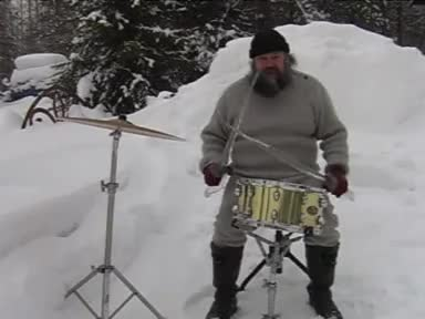 Finland Santa fat ice drum, Meanwhile in Finland GIFs