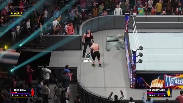 Watch and share Undertaker Killing Cena GIFs on Gfycat