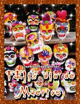Watch and share Dia De Muertos Tags GIFs on Gfycat