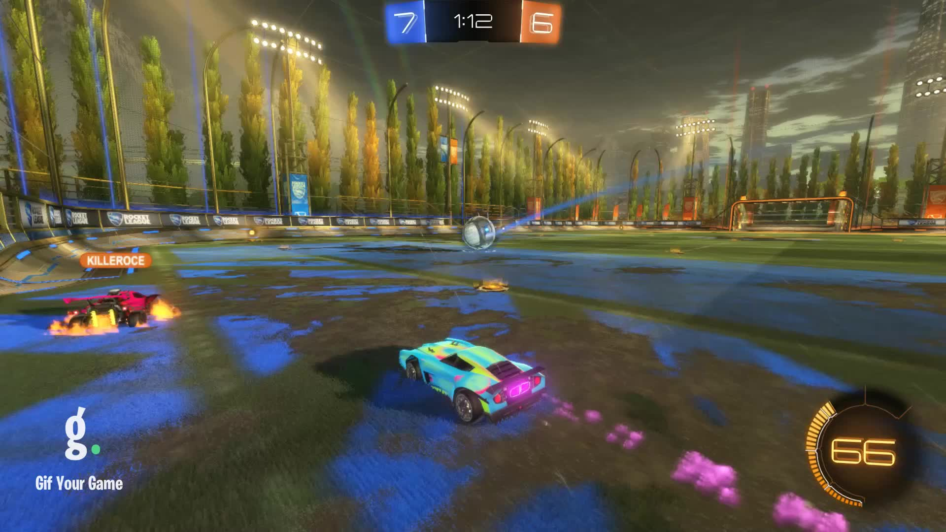 DTMerc, Gif Your Game, GifYourGame, Goal, Rocket League, RocketLeague, Goal 14: DTMerc GIFs