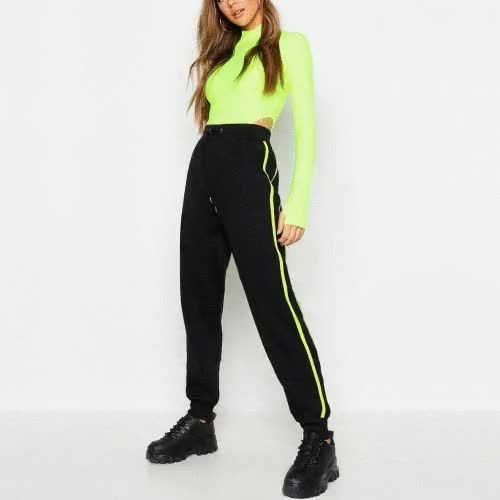Watch and share Wholesale Green And Black Color Tracksuit Manufacturer! GIFs by Oasis Jackets on Gfycat