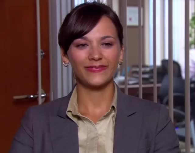 Watch and share Rashida Jones GIFs and The Office GIFs by Super GIF on Gfycat