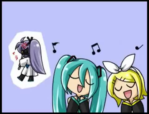 Watch this trending GIF on Gfycat. Discover more Gakupo, Miku, Rin GIFs on Gfycat