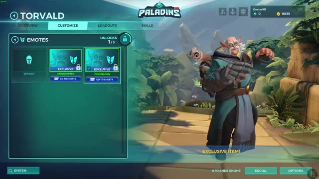 Watch and share Tovald Gameplay GIFs and Paladins GIFs on Gfycat