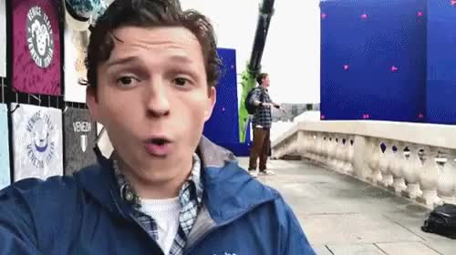 Watch and share Tom Holland GIFs and Celebs GIFs on Gfycat