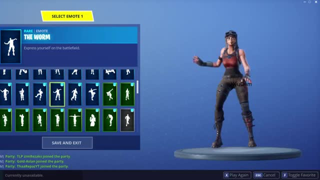 Watch and share Fortnite All Emotes GIFs and Renegade Raider GIFs by Breezy ツ on Gfycat