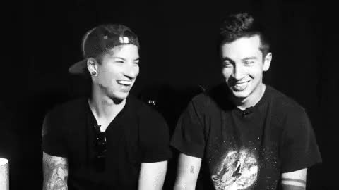 Watch and share Twenty One Pilots GIFs and Tyler Joseph GIFs on Gfycat