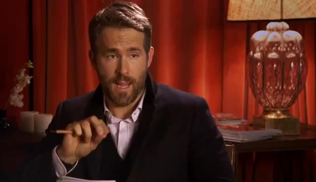Watch and share Ryan Reynolds Gets Roasted By His Twin Brother | GQ GIFs on Gfycat