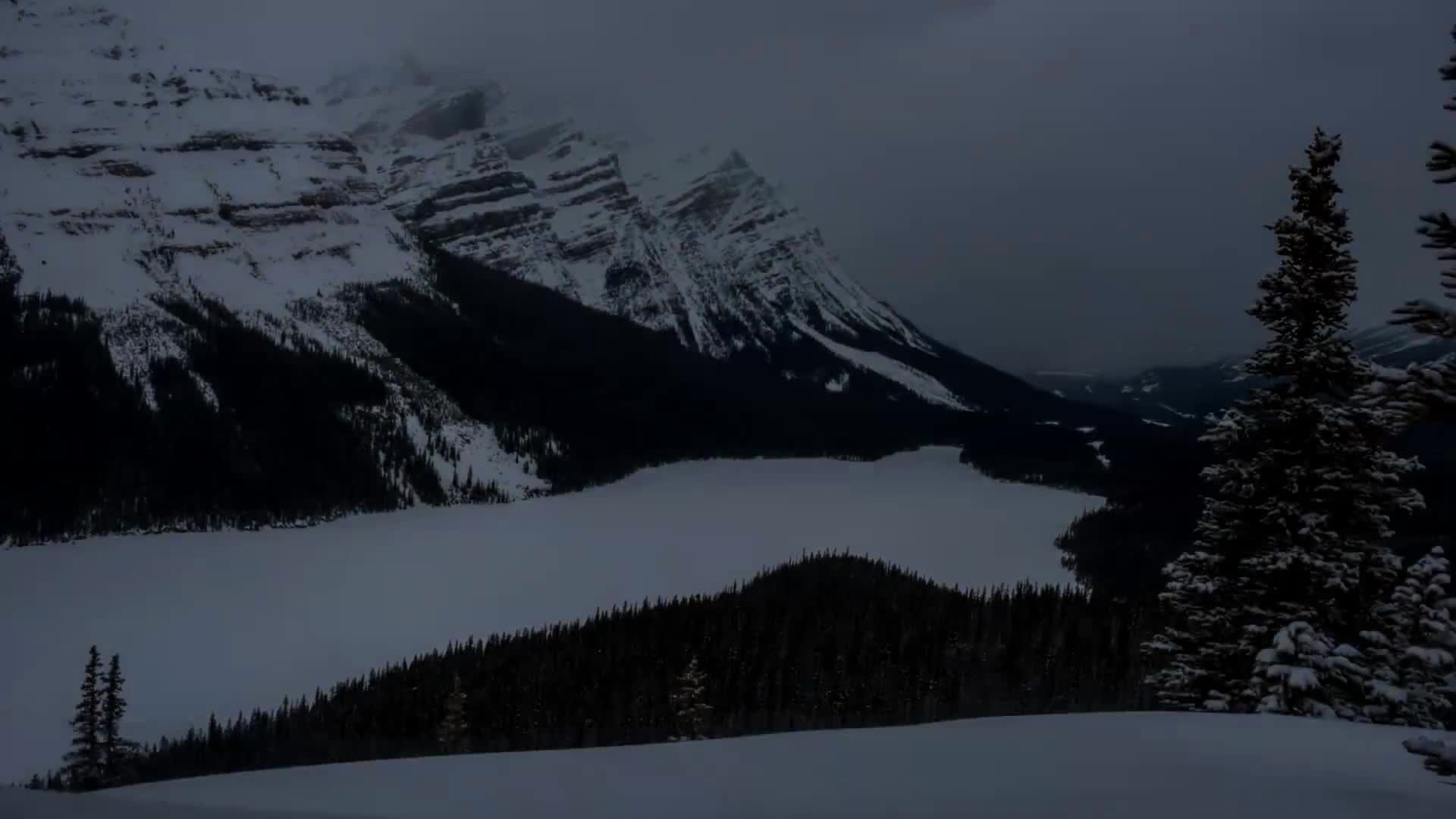 nature, timelapse, Mountains in Motion: The Canadian Rockies GIFs