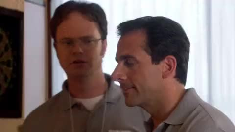 Watch this sassy GIF on Gfycat. Discover more Rainn Wilson, Steve Carell GIFs on Gfycat