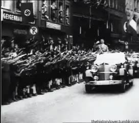 Watch and share Adolf Hitler GIFs and Nazi Germany GIFs on Gfycat