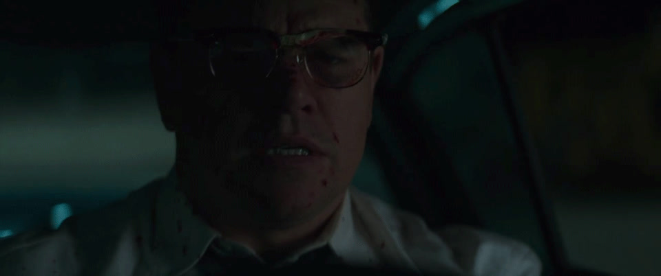 angry, celebs, driving, funny, mad, matt damon, movie, rage, suburbicon, Suburbicon - Matt Damon - Mad GIFs