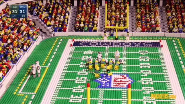 Packers use Legos to recreate thrilling win over Cowboys | NFL ...