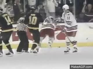 Watch and share Mark Messier Leads The 1994 NY Rangers To The Stanley Cup GIFs on Gfycat