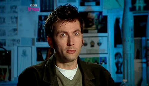 Watch and share David Tennant GIFs and Interested GIFs by Reactions on Gfycat