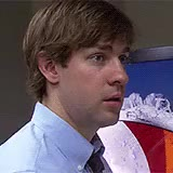 Watch and share John Krasinski GIFs and Jim Halpert GIFs on Gfycat