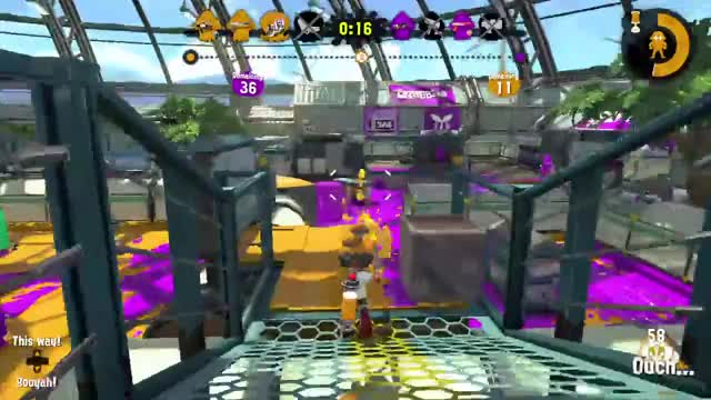 Watch and share Dodging A Sniper In Splatoon 2 GIFs on Gfycat