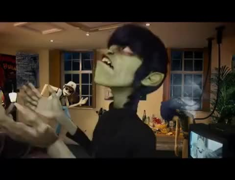 Watch this trending GIF on Gfycat. Discover more 2D, gorillaz, murdoc niccals GIFs on Gfycat