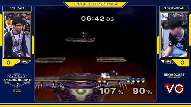 TBH6 SSBM - CLG | PewPewU (Marth) Vs. SSI | Zain (Marth) - Smash Melee Top 32