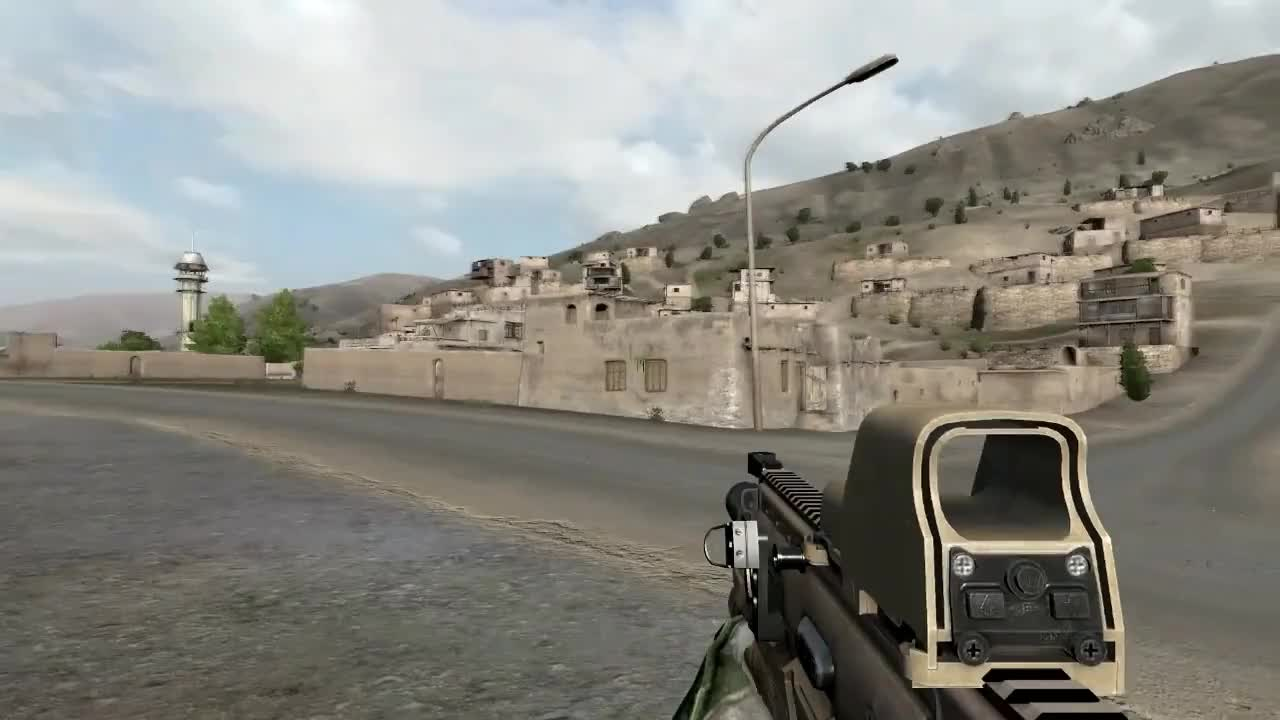 arma, arma2, LOD Popping GIFs