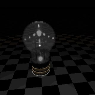 Watch and share Animation: Incandescent Light Bulb Turns On And Off GIFs on Gfycat