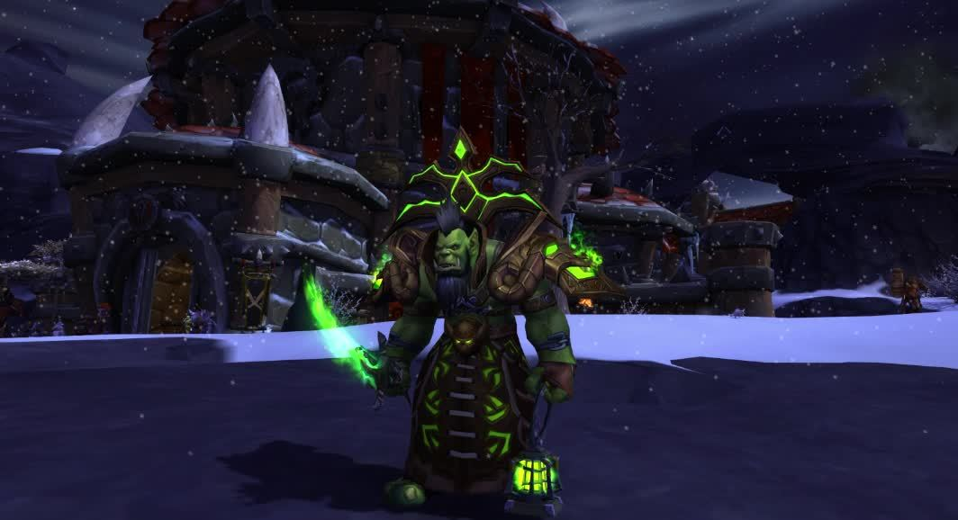 transmogrification, warlock, wow, Eredar Man'ari (Update) GIFs
