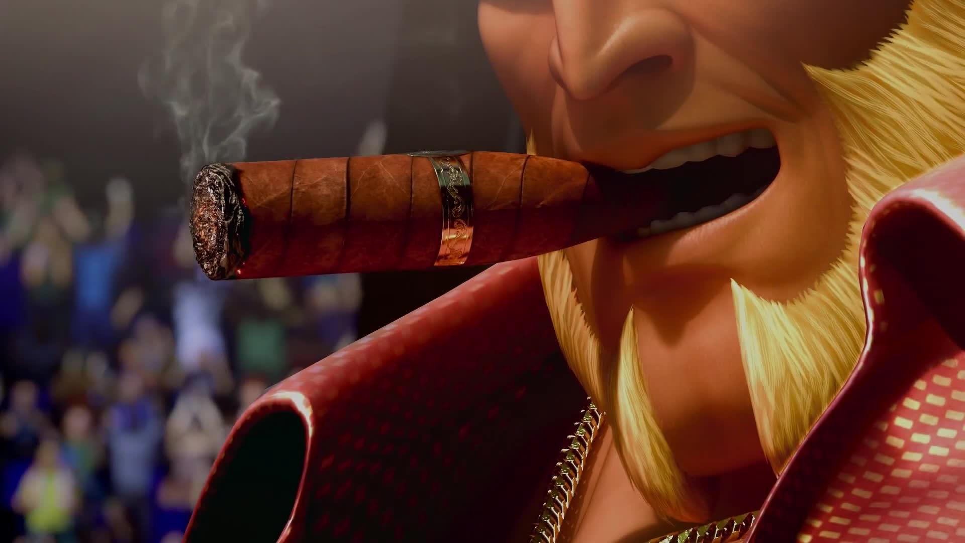 kof, kof 14, kof xiv, The King of Fighters XIV - All Story Mode Cinematic Cutscenes GIFs