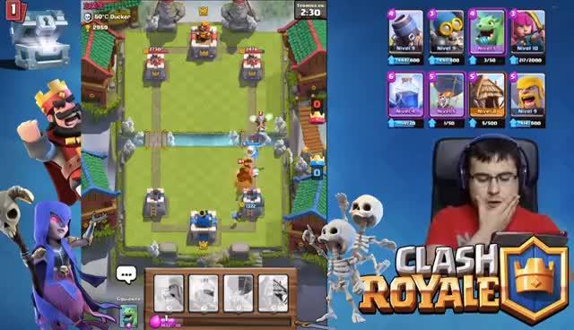 Watch ¿Por qué me obligan a jugar a lo guarro?   Arena 7   El (free) Cofre Troll   Clash Royale GIF on Gfycat. Discover more related GIFs on Gfycat