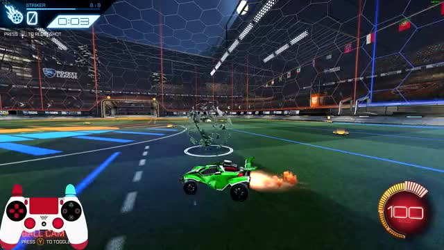 Tutorial: How to Hit Powerful Ground Shots in Rocket League