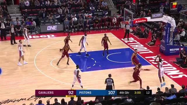Watch and share Cleveland Cavaliers GIFs and Detroit Pistons GIFs by Mike Snyder on Gfycat