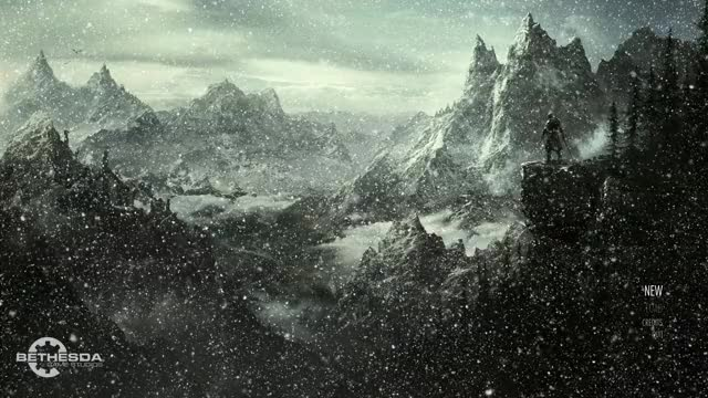 Watch and share Elder Scrolls V  Skyrim - Lore Friendly Animated Main Menu Replacer GIFs by slashisthebestrock on Gfycat