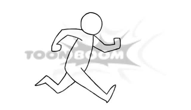 Watch Exercício de animação - Personagem Correndo GIF on Gfycat. Discover more related GIFs on Gfycat